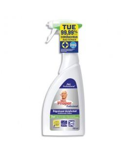 Spray 750 ml Dégraissant et désinfectant des surfaces de cuisine, HACCP - Mr Propre
