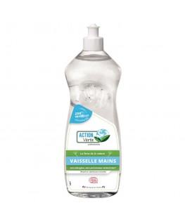 Flacon 1L liquide vaisselle main, environ 100 lavages - Action Verte