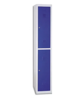 Vestiaire démontable élément de Départ 2 cases en acier - MT International