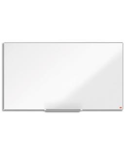 """Tableau acier laqué widescreen 40"""" 89 x 50 cm Impression Pro - Nobo®"""