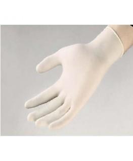 Boîte de 100 gants en latex poudré économique longueur 24 cm Taille 6-7