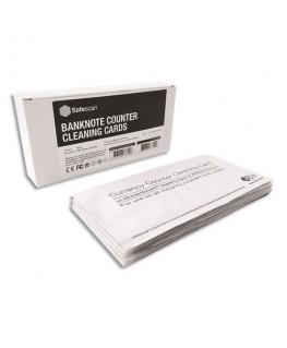 Pack 15 lingettes de nettoyage pour compteuses de billets - Safescan