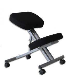 Siège Ergo Métal assis-genoux en polyuréthane, hauteur réglable