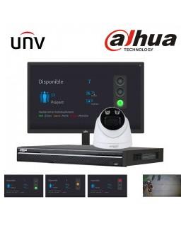 UNIVIEW Kit pour gestion des flux de personnes en temps réel