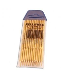 Recharge pour stylo bille sur socle pointe fine coloris bleu - Fellowes®