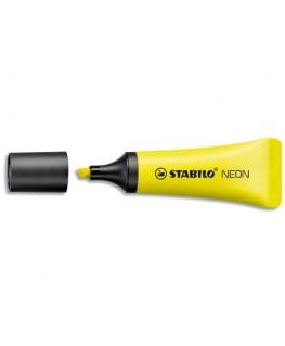 Surligneur pointe biseautée encre à base d'eau Stabilo® BOSS® Original® NEON jaune